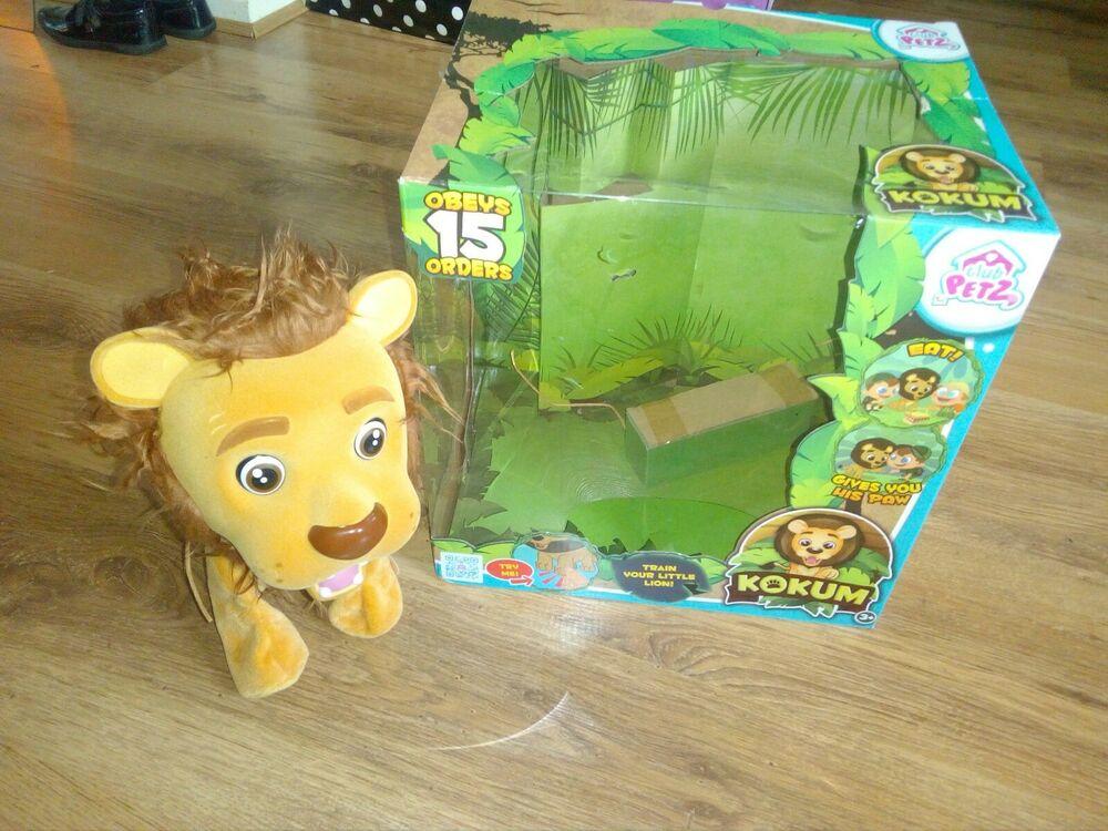 Club petz kokum the lion