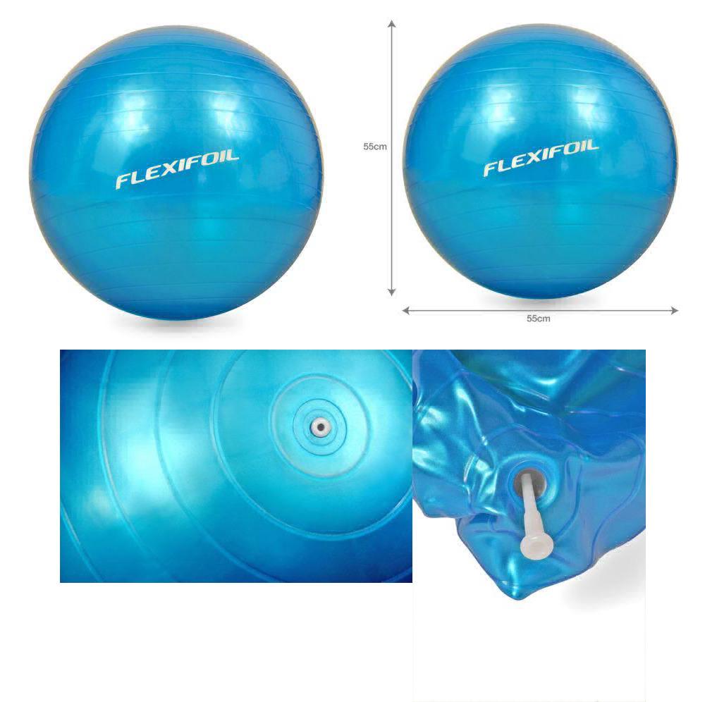 Flexifoil Anti Burst Exercise Ball Sizes (55cm / 65cm /