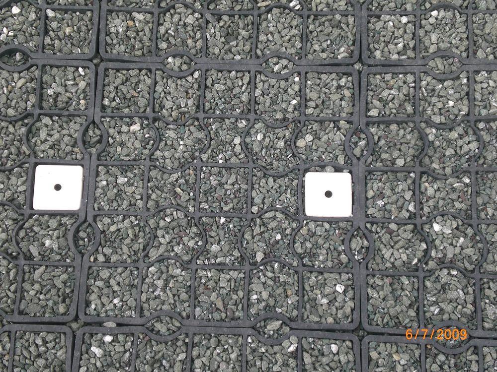 Flush 40mm EcoGrid Bay Markers:: Car Park Inserts::
