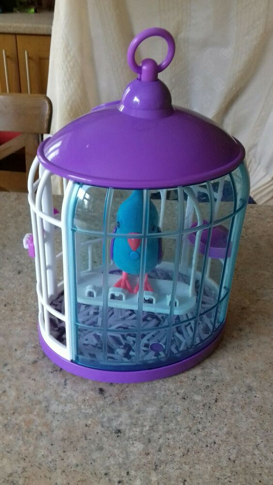 Little Live Pets Tweet Talking Bird With Cage Toy
