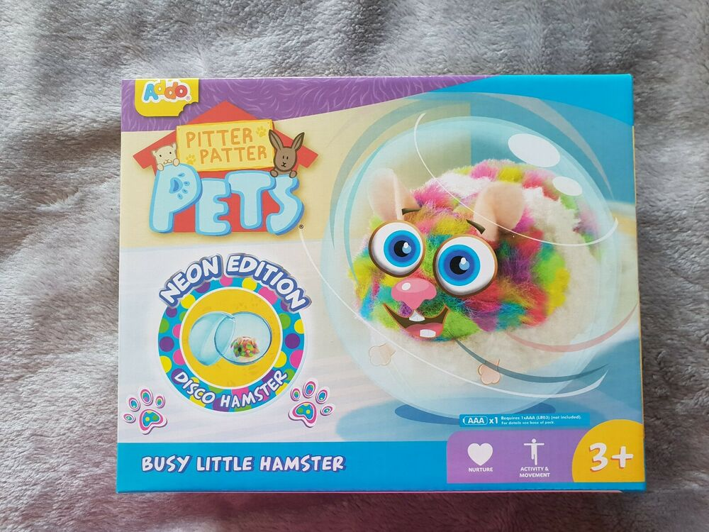 Pitter patter pets - Busy little Hamster BRAND NEW IN BOX