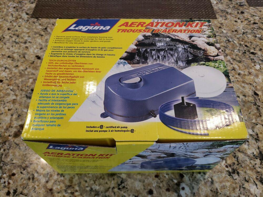 Brand new Laguna Aeration Kit for Ponds Air Stone / Pump /