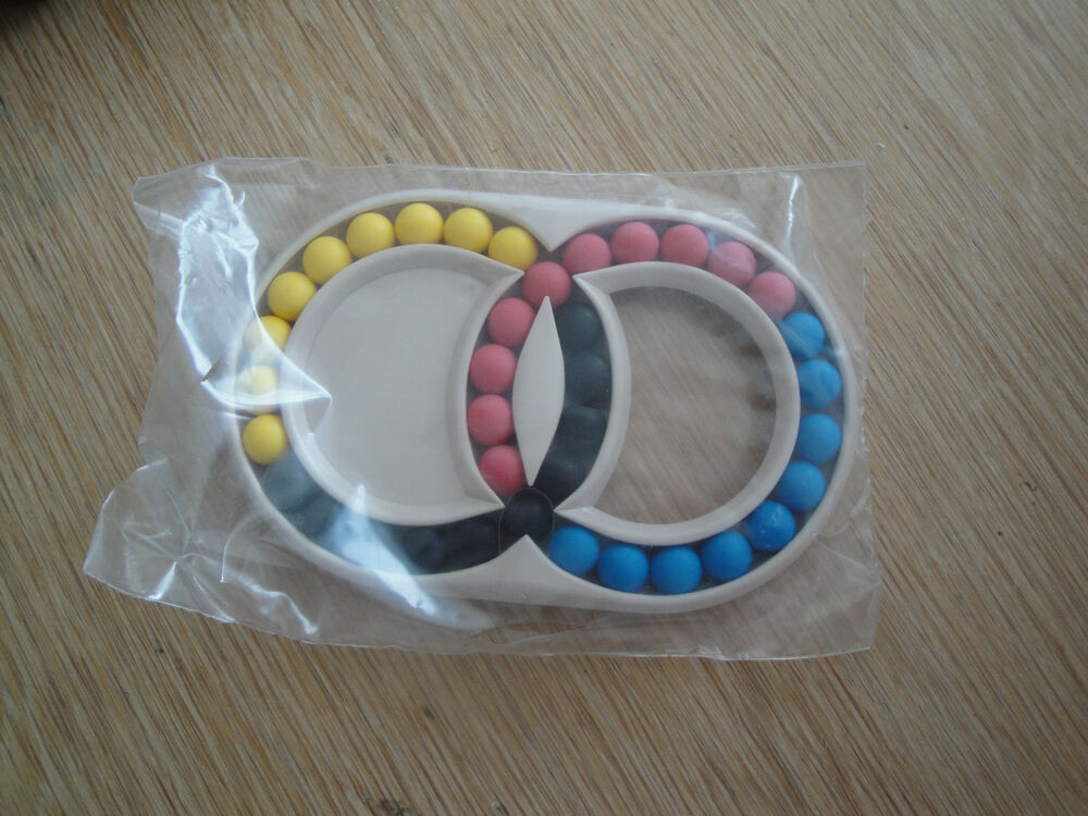 HUNGARIAN DOUBLE RINGS - Vintage Retro Puzzle 80s Brain