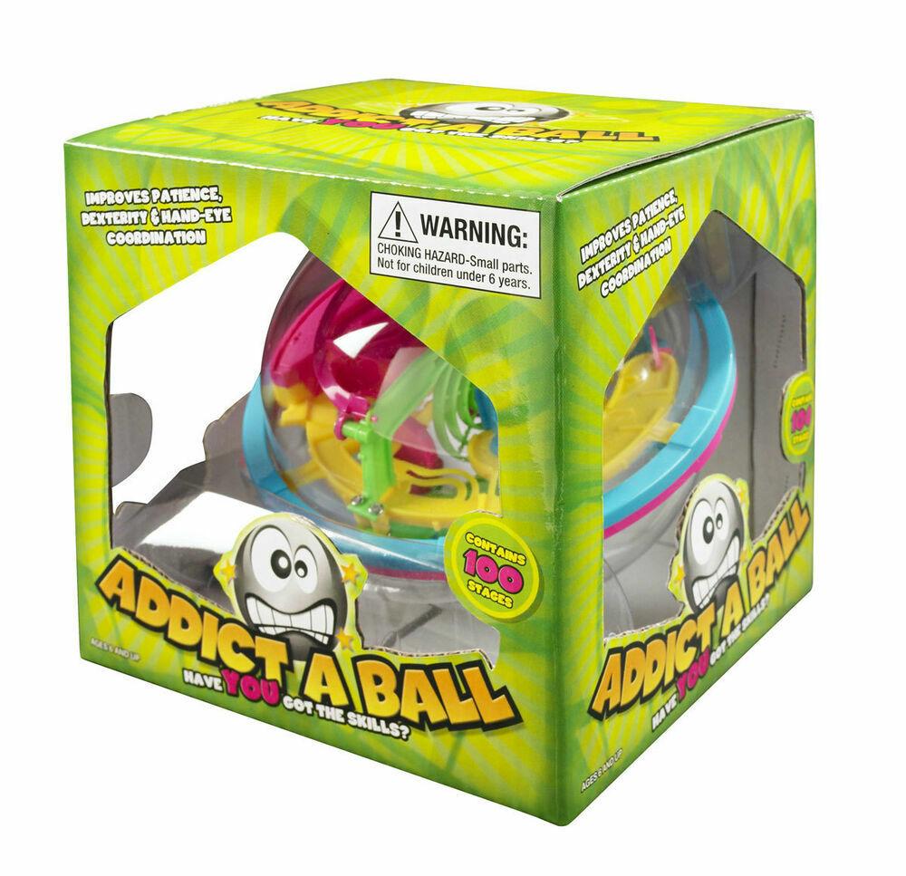 NEW - ADDICTABALL SMALL MAZE 2 PUZZLEBALL GAME - ADDICT A