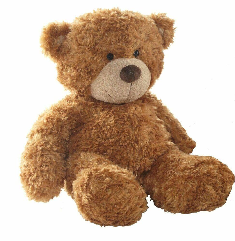 """NEW Aurora 9"""" Traditional Soft Brown Bonnie Teddy Bear Small"""