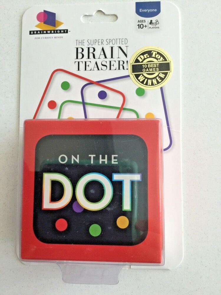 On The Dot Brain Teaser Dr Toy Winner