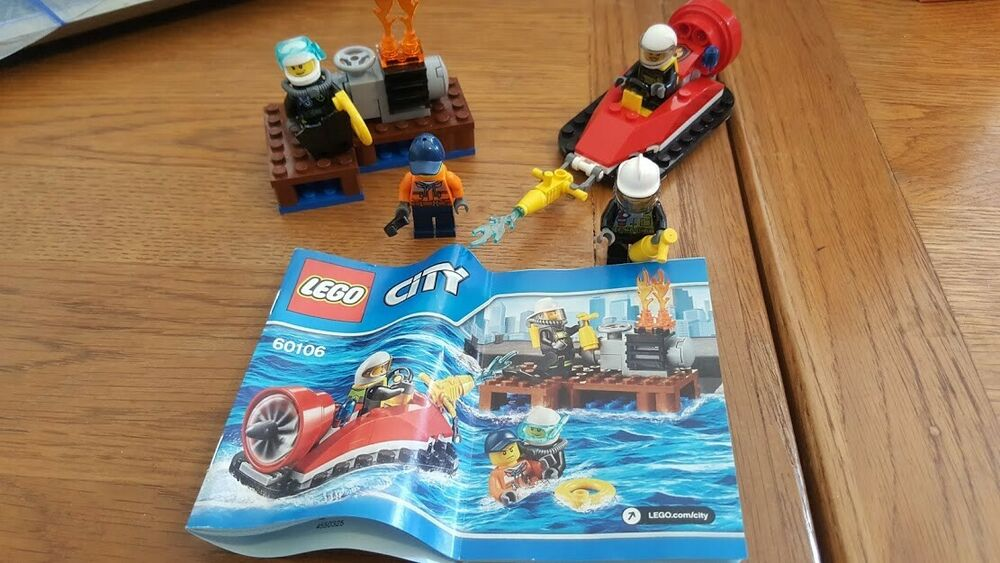 LEGO City Fire Starter Set () complete but no box