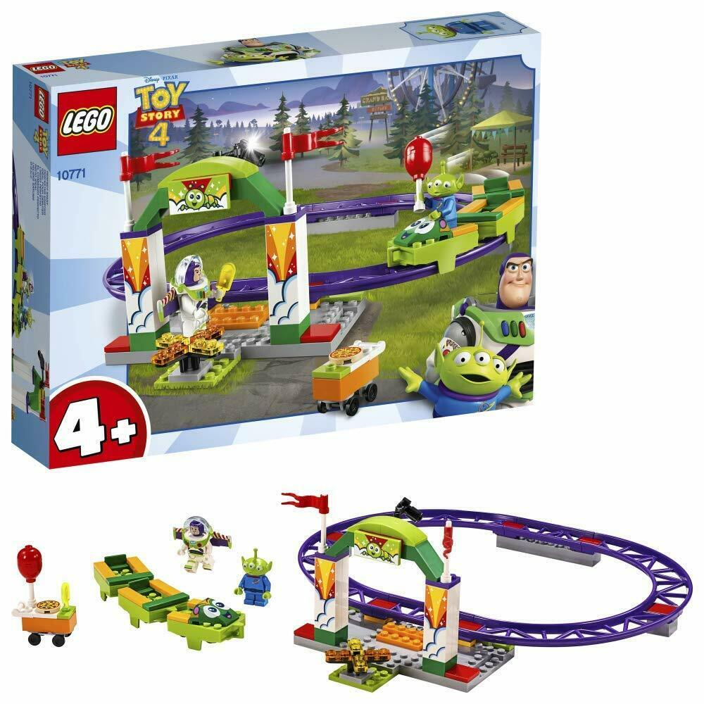LEGO  Disney Pixar Toy Story 4 Carnival Thrill Coaster