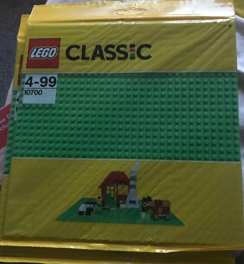 Lego Classic Baseplate GREEN