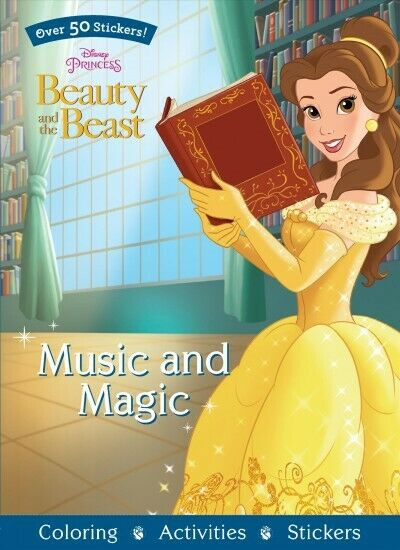 Music and Magic: Over 50 Stickers!, Paperback by Parragon