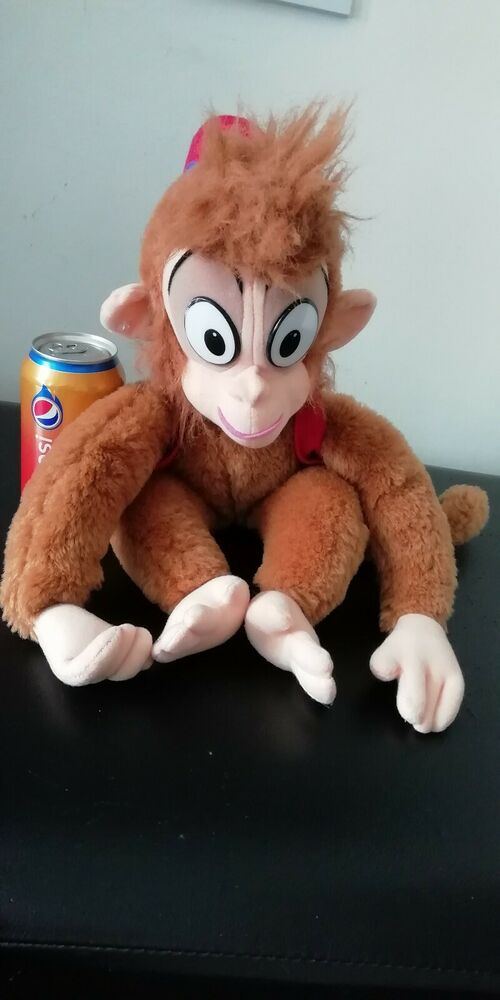 Official Disney Store Aladdin 30cm Abu The Monkey Soft Plush