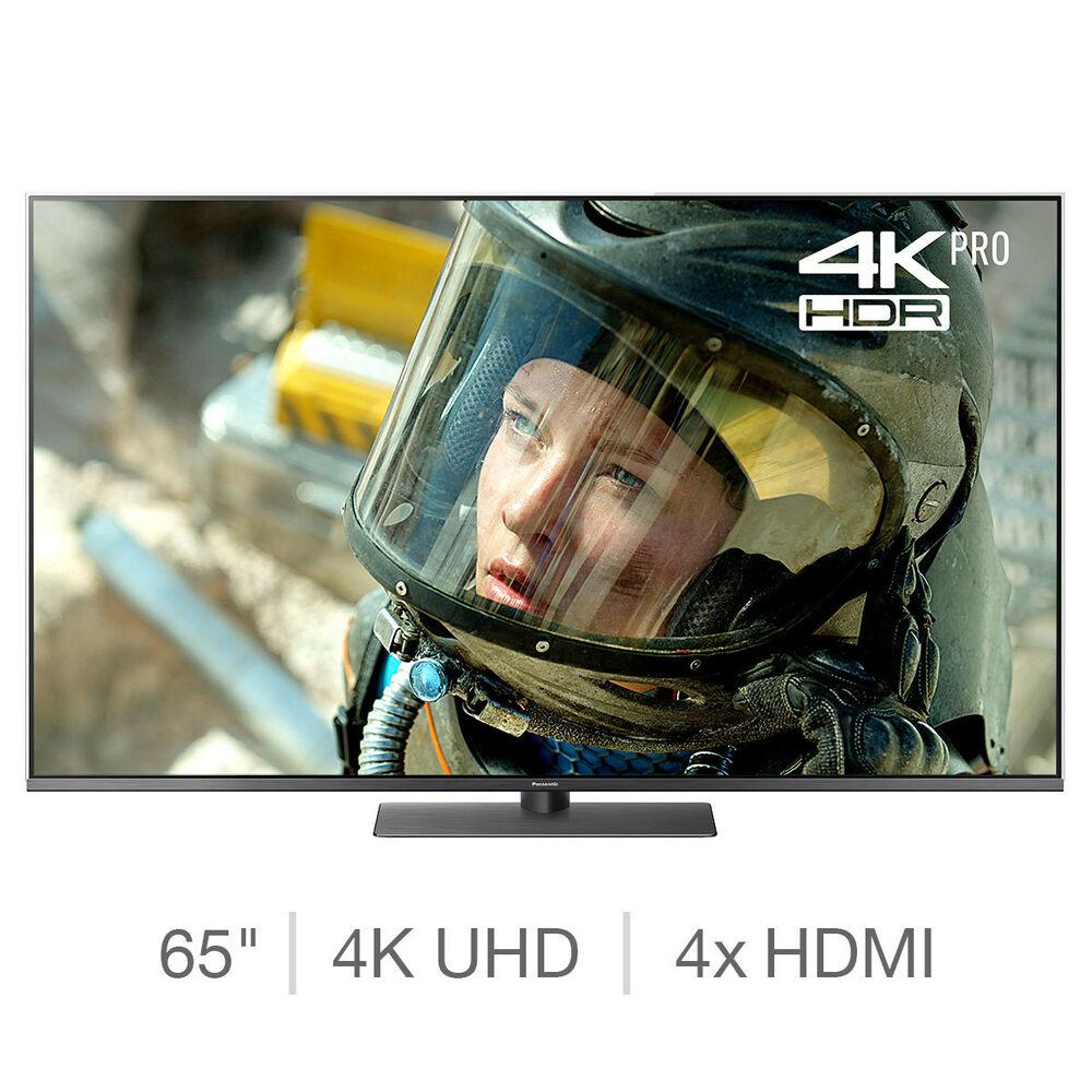 Panasonic 65 Inch 4K Ultra HD LED TV - Black (TX-65FX750B)