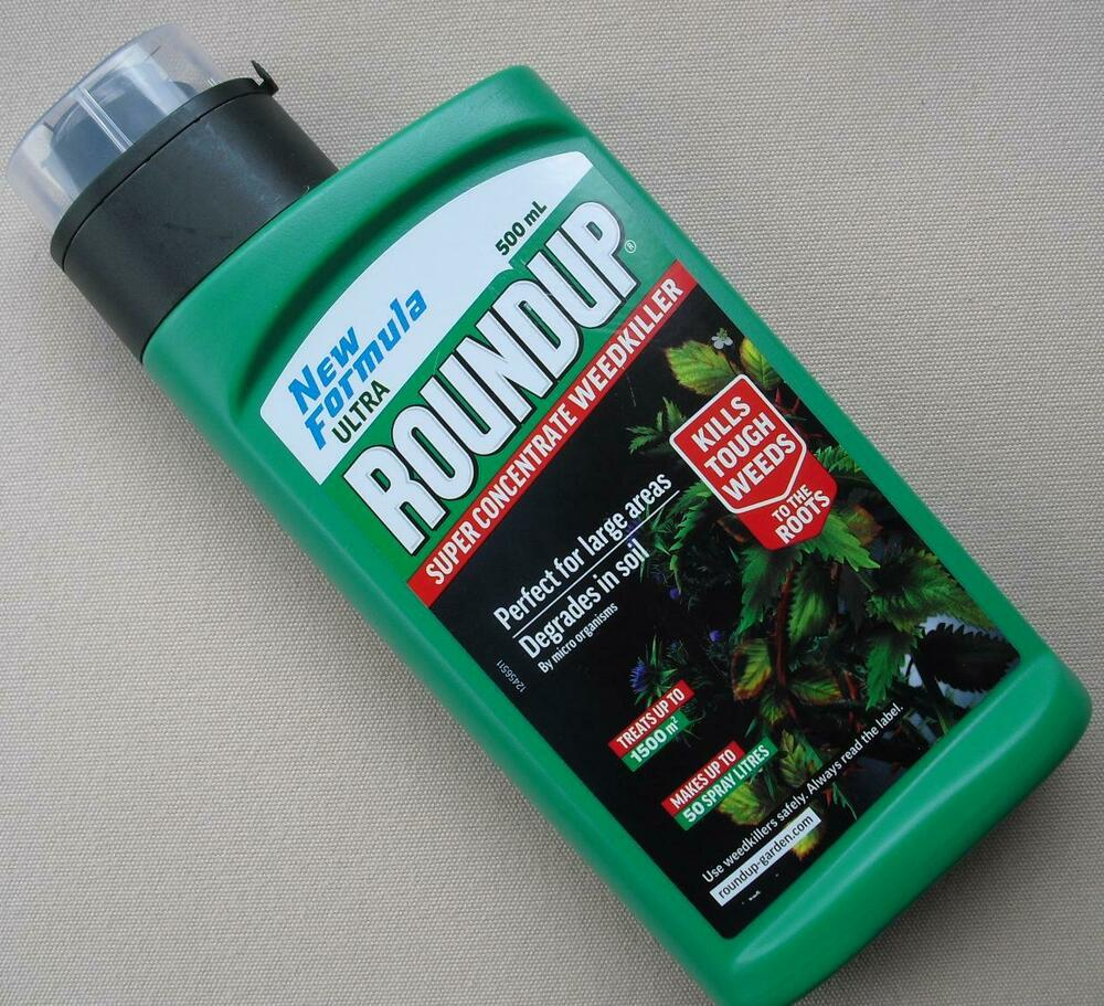 ROUNDUP ULTRA Super Liquid Concentrate Weedkiller 500ml