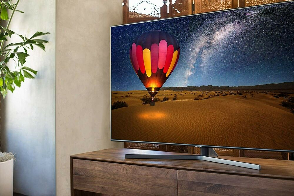 Samsung NUin. 4K Ultra HD HDR Smart TV - Charcoal