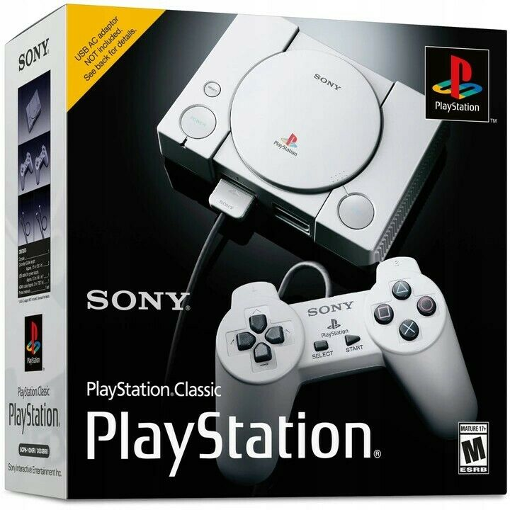 Sony PlayStation Classic Console mini 20 Games Brand New