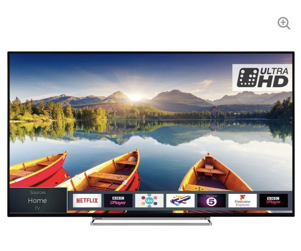 Toshiba 43UDB 43 Inch 4K Ultra HD 3 HDMI Smart LED TV