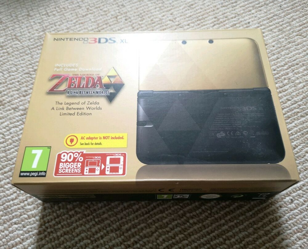 ZELDA: A LINK BETWEEN WORLDS 3DS XL CONSOLE BRAND NEW SEALED