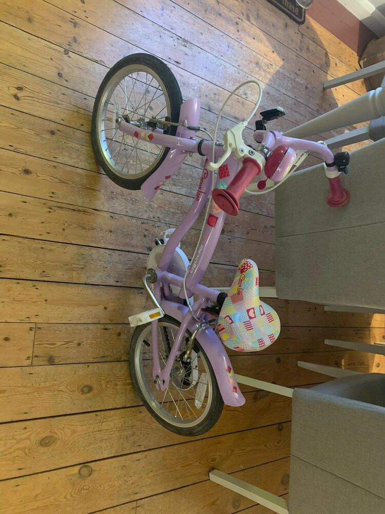 "Apollo Cherry Lane Kids Girls Bike Bicycle 16"" Inch Wheels"