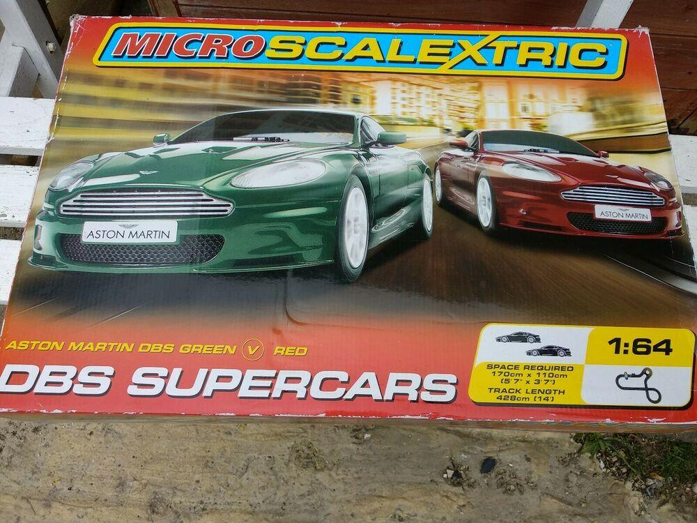 Aston Martin Micro Scalextric DBS Supercars