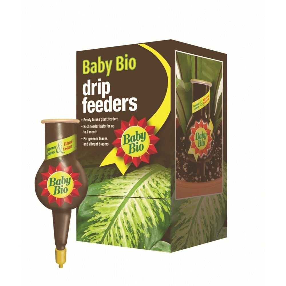 Baby Bio Original Drip Feeders, 40ml