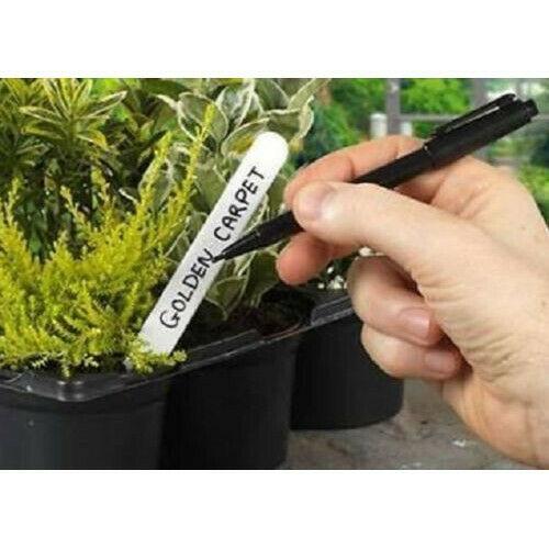 Garden Plant Label Marker Pen Black Waterproof Ink Long
