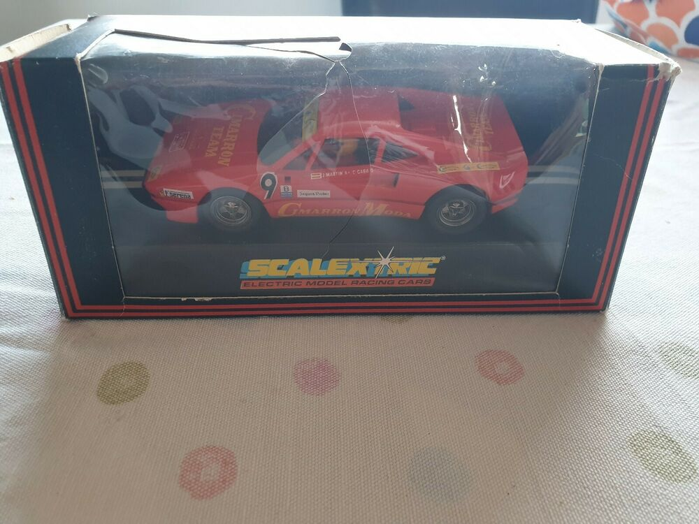 Hornby Scalextric C391 Ferrari GTO Boxed