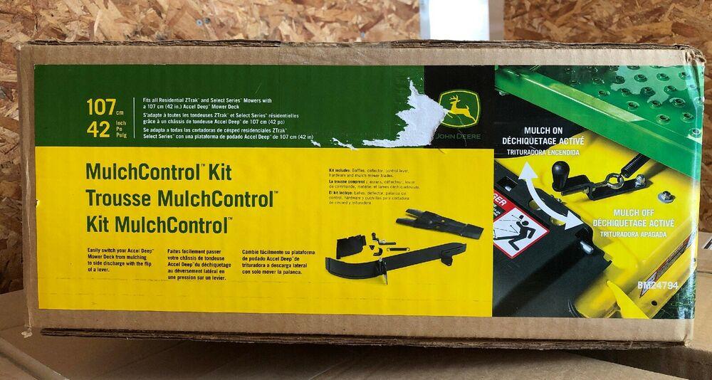 John Deere Riding Mower Recycle Kit 42 in. Mulch Switch