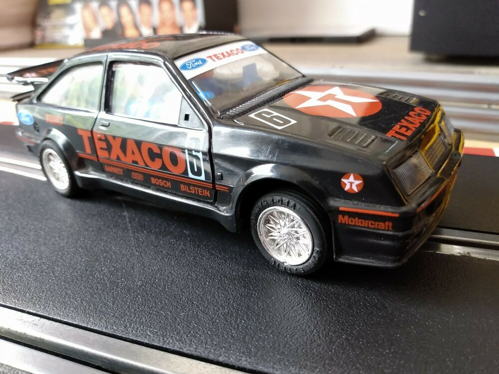 LOVELY Scalextric Ford Sierra Cosworth Texaco No.6 C455