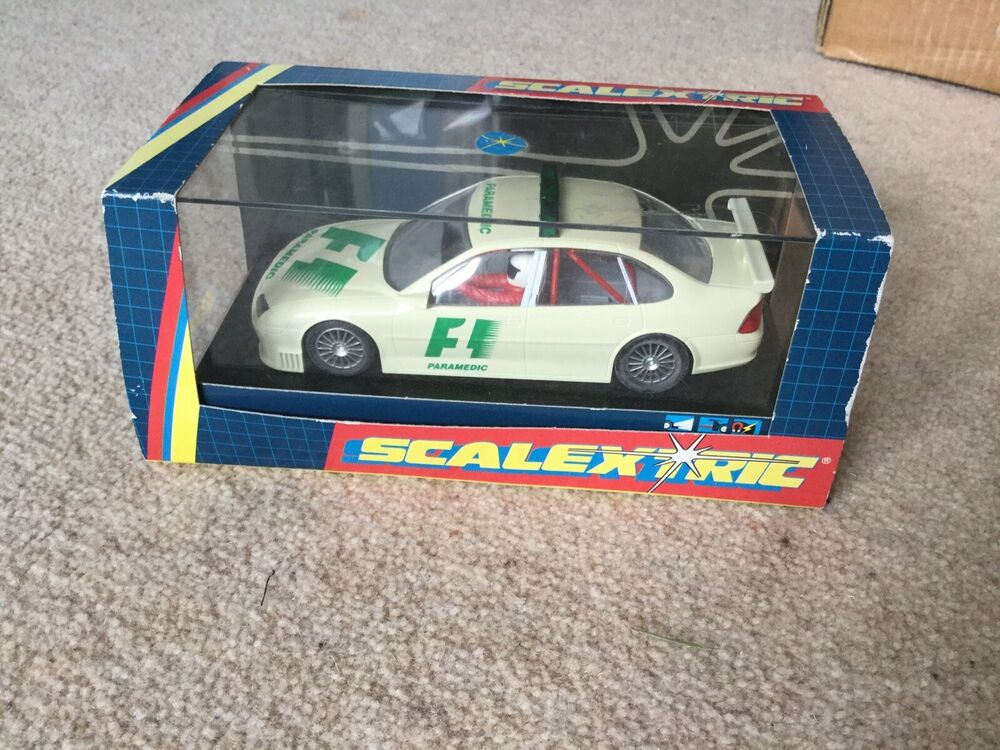 SCALEXTRIC C COLLECTORS SERIES F1 paramedic Car