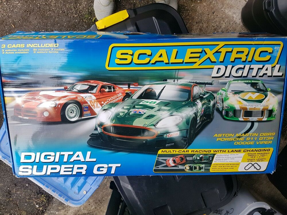 SCALEXTRIC C Digital Super GT Car Racing Set Boxed