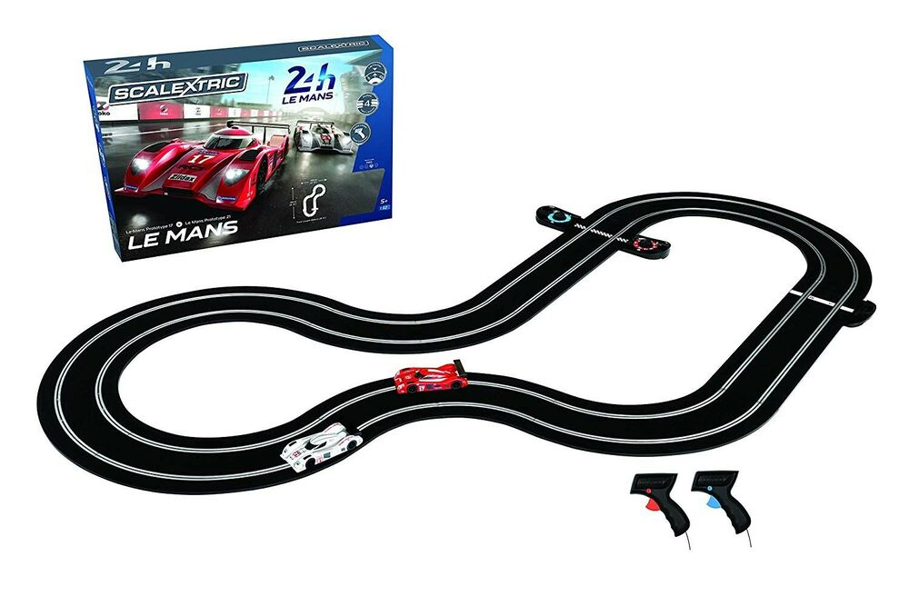 SCALEXTRIC C Le Mans Sports Cars Set + Extras, 6 months
