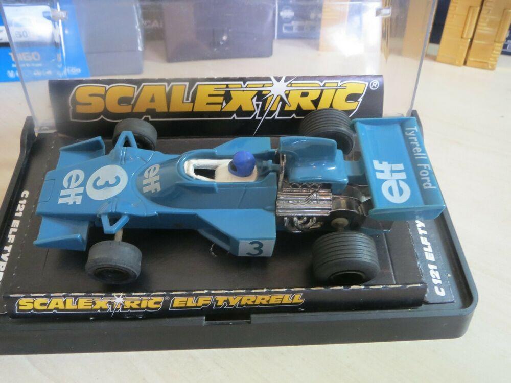 SCALEXTRIC C121 ELF TYRELL EXCELLENT CONDITION IN ORIGINAL