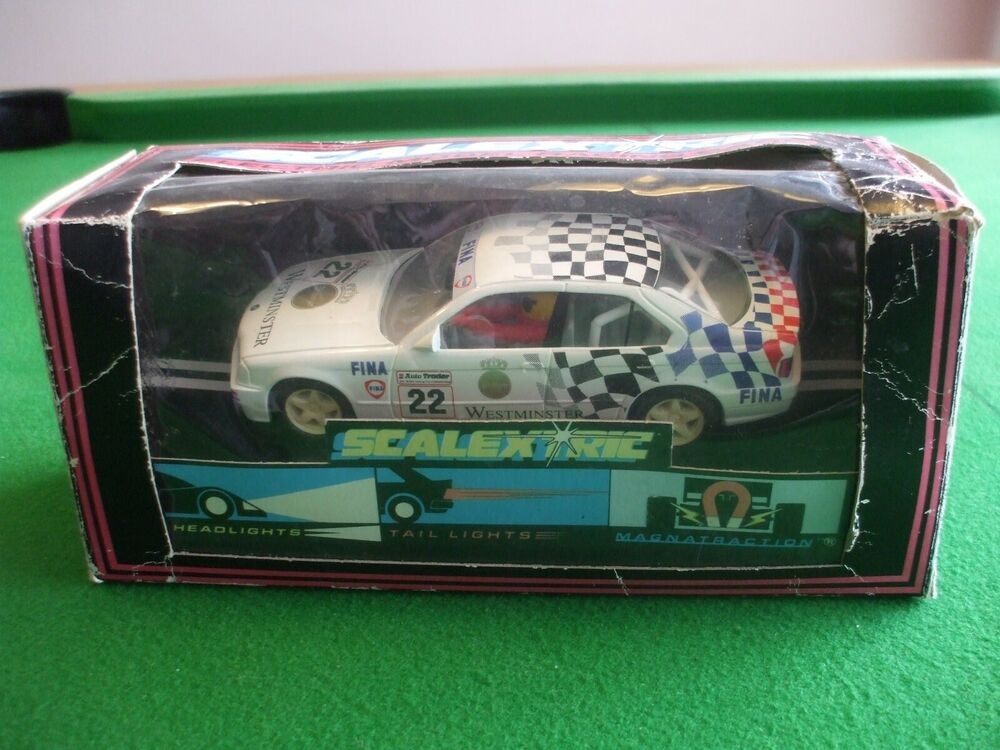 SCALEXTRIC C462 BMW 318i WESTMINSTER FINA #22 NEW IN VERY