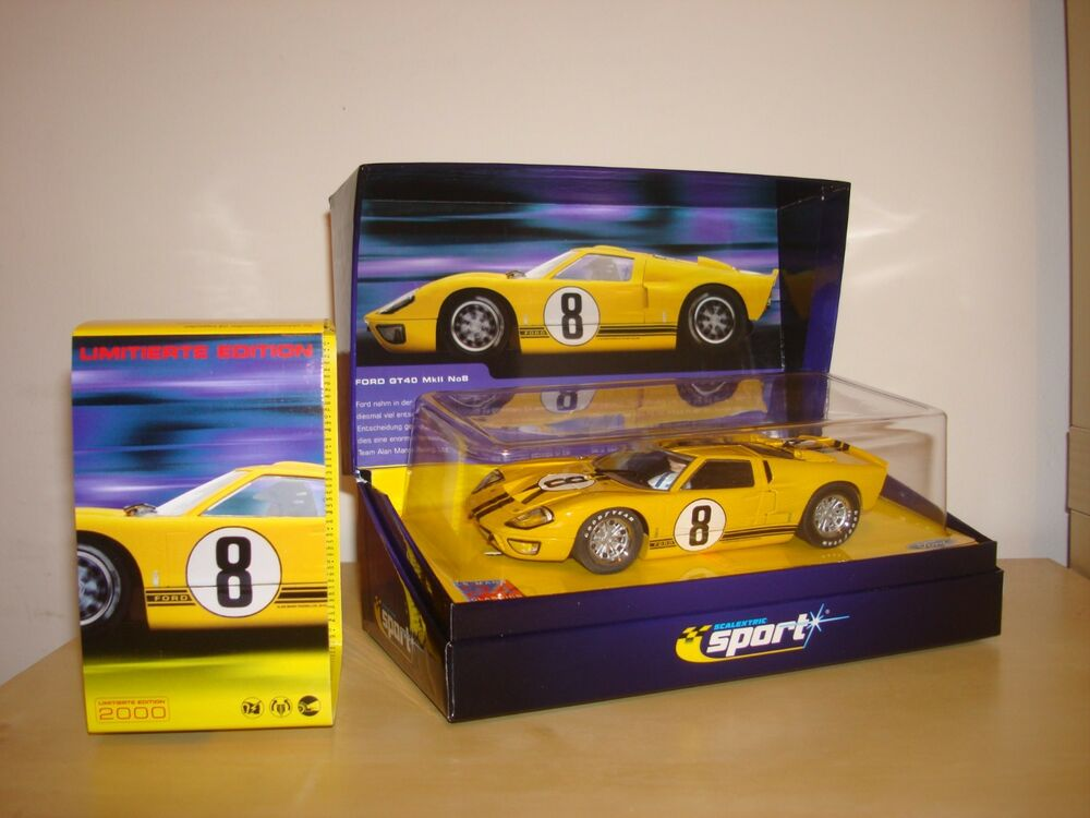 SCALEXTRIC NOS CA #8 FORD GT40 MK LE MANS CAR -