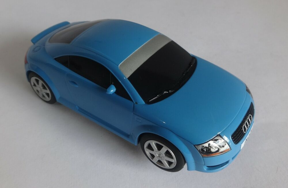 Scalextric C Audi TT Blue Very Good Condition Serviced,