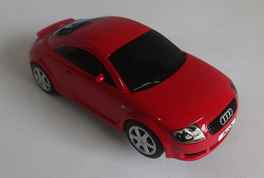 Scalextric C Audi TT Red Excellent Condition Serviced