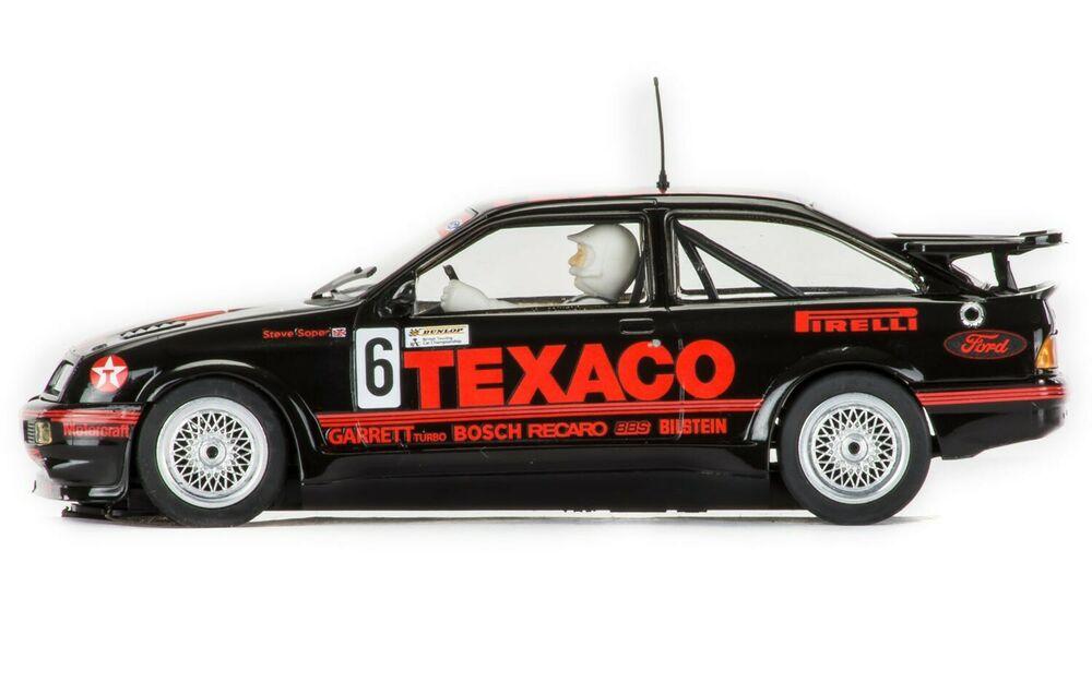 Scalextric C BTCC Ford Sierra RS500 Slot - Steve Soper,