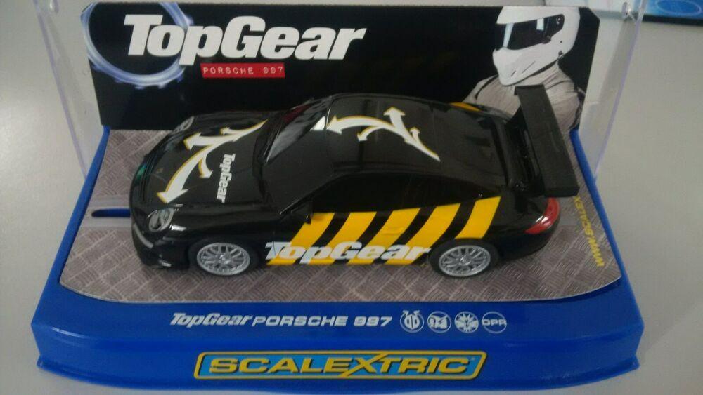 Scalextric C Digital Porsche 997 Top Gear Car