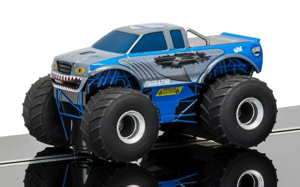 Scalextric C Team Monster Truck - Predator (Blue) 1:32