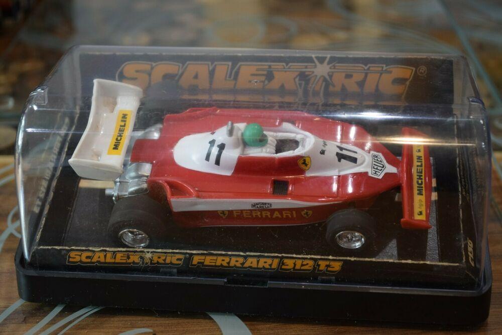 Scalextric C136 Ferrari 312 T scale Slot Car