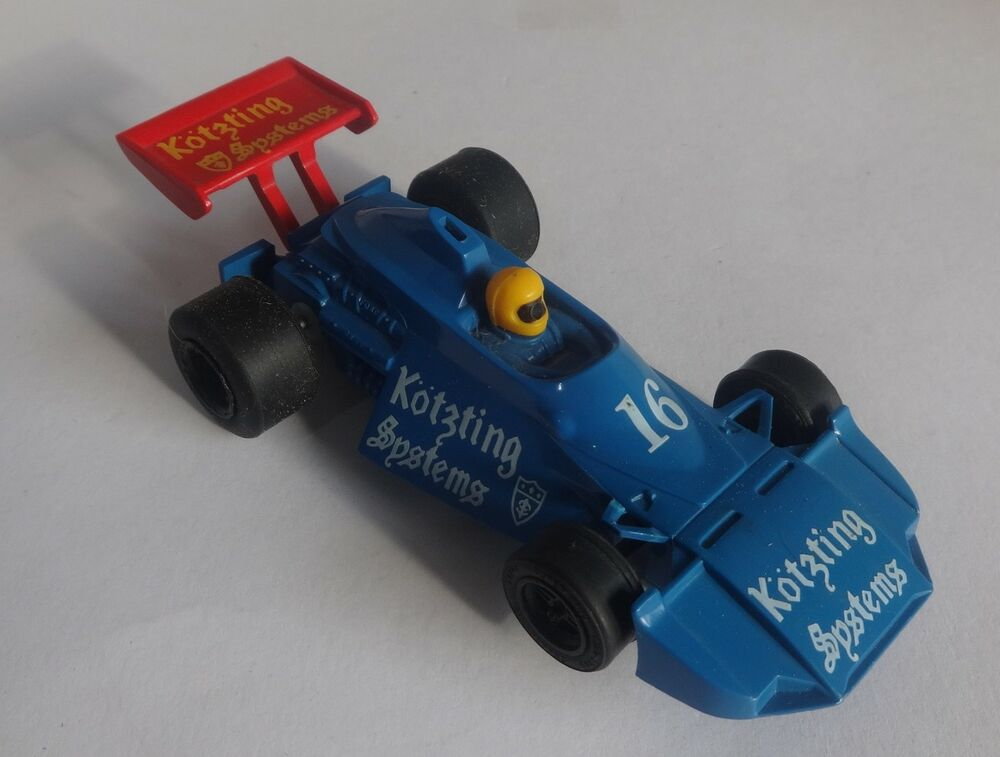 Scalextric C148 Brabham Kotzting New Rear Tyres Serviced