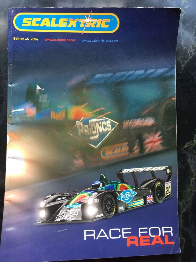 Scalextric Catalogue Edition  Used Condition