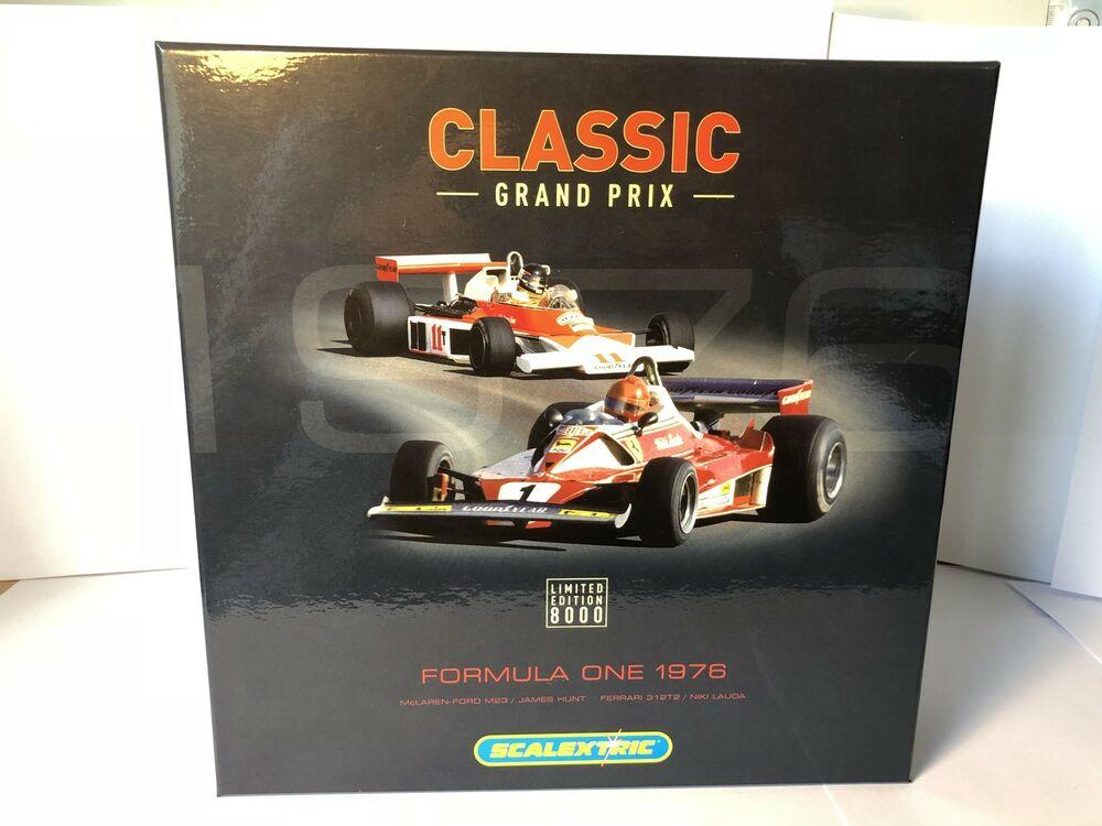 Scalextric Limited Edition F James Hunt & Niki Lauda