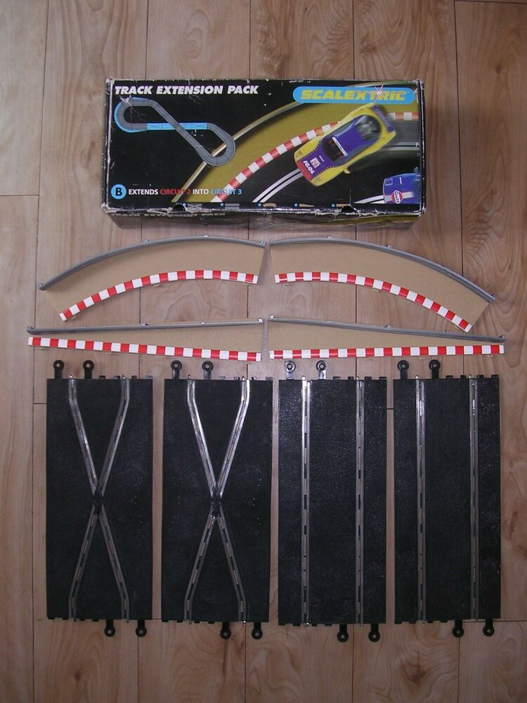 Scalextric Track Extension Pack B C - Extends Circuit 2