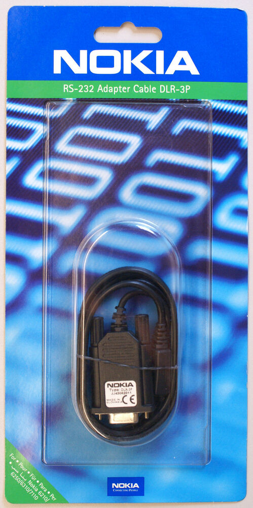Genuine Original New Nokia DLR-3P RS-232 Serial Data Cable