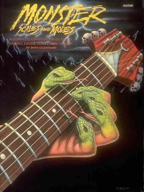 Monster Scales and Modes: By Dave Celentano by, NEW Book,