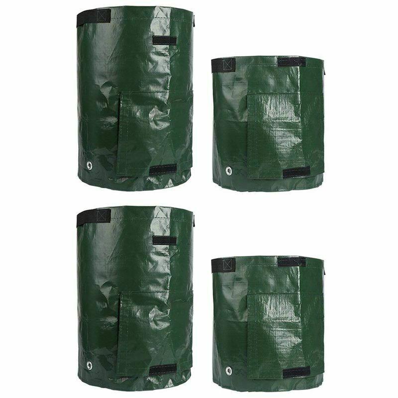 2PCS 10 Gallon and 2PCS 7 Gallon Potato Grow Bags, Planter
