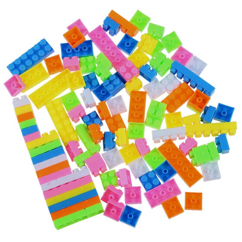 96pc Colorful Plastic Children Kid Puzzle Educational