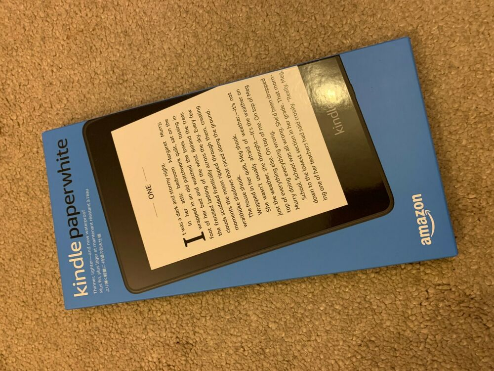 Amazon Kindle Paperwhite 10th Generation 8GB Wi-Fi Brand New