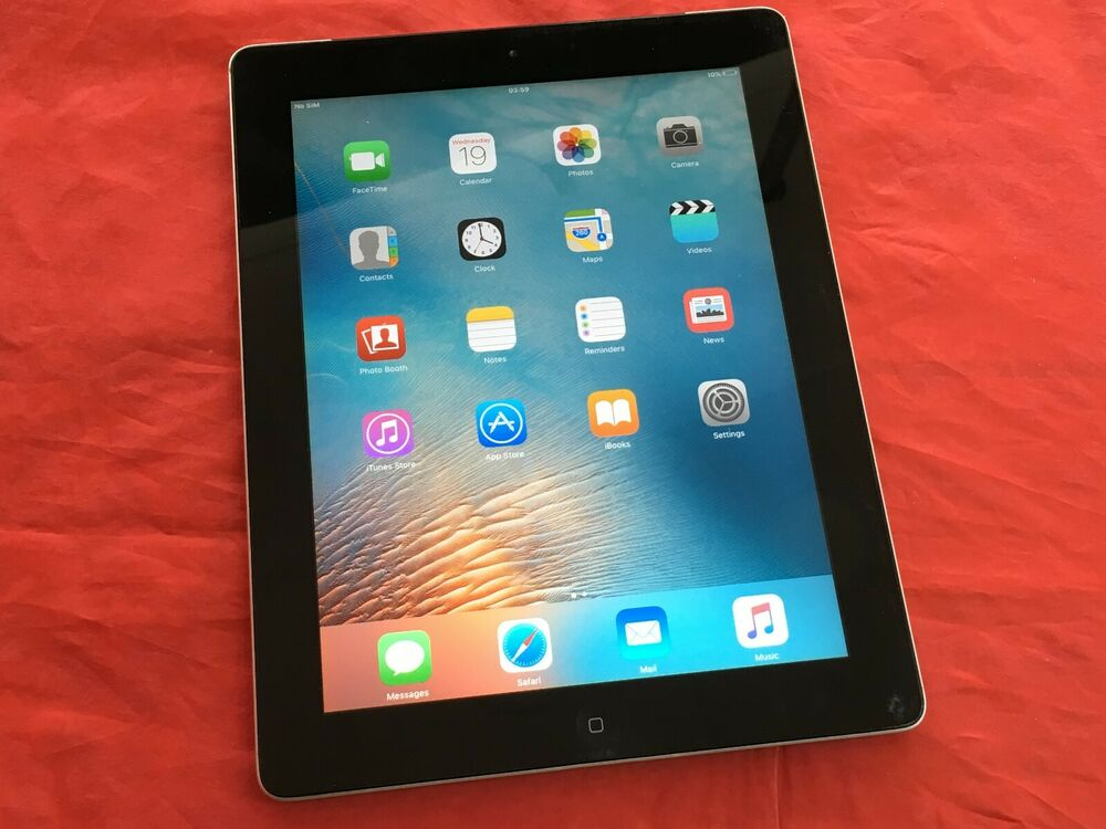 Apple iPad 2 16GB, Wi-Fi+Cellular (A) - Black - (See